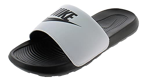 Nike Victori One Slide, Sandal Hombre, Black/Black-White, 38.5 EU