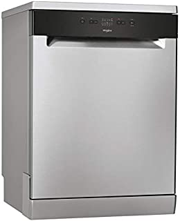 Lave vaisselle Whirlpool WRFE2B16X - Lave vaisselle 60 cm - Classe A+ / 46 decibels - 13 couverts - Inox bandeau : Noir - ...