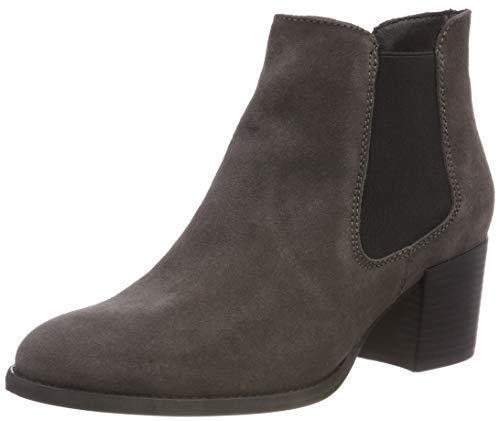 Tamaris Damen 25381-21 Chelsea Boots, Grau (Anthracite 214), 41 EU