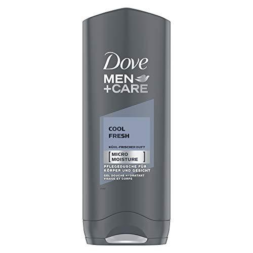 Dove Men+Care Duschgel, für Körper und Gesicht Cool Fresh mit MicroMoisture Technologie, 250 ml