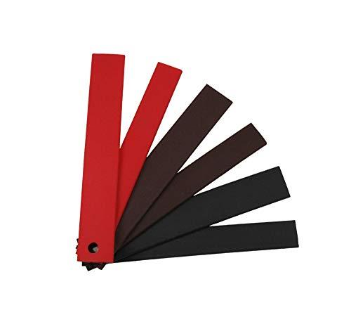 BioThane® Meterware, Grippy Standard, 9-25 mm breit, ca. 2,5 mm dick, 3 Farben, 16mm, Schwarz