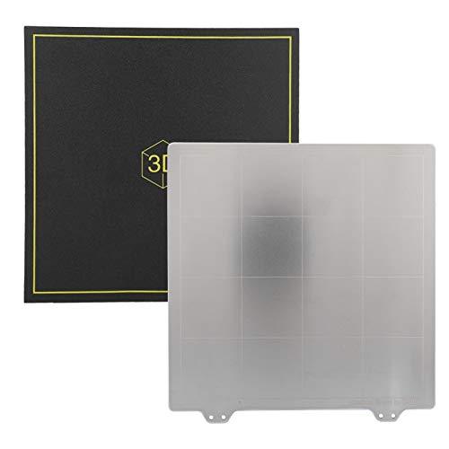Lunga vita utile Letto caldo flessibile Riscaldatore veloce Prestazioni staccabili Pulizia gratuita 220 * 220mm 3mm per stampante 3D