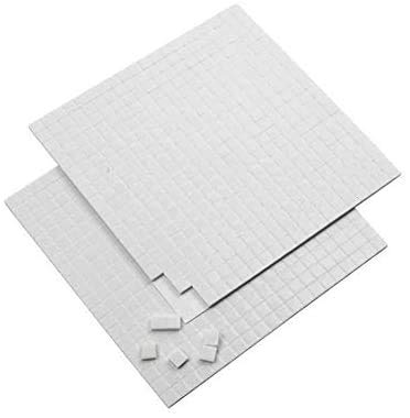 320 Pack Double Sided Sticky Pads Mounting Adhesive Foam Craft Tabs