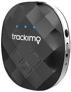 Trackimo Guardian ミニポータブルリアルタイムパーソナルGPSトラッカー 車 ペット 子供用 AndroidとiPhone用のアプリで世界中で完全にカバー バッテリー寿命が長持ち。