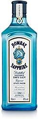 Bombay Sapphire Ginebra, 700ml