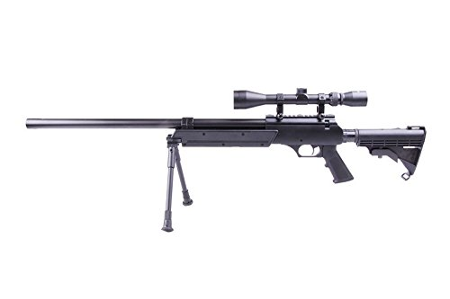 Well Softair MB06B Sniper a Molla Spring (0.5 Joule)-consegnato con Accessori