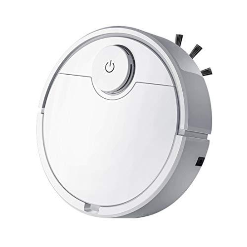 TAOXUE Robot Aspirador 2 En 1, Aspira Y Friega, con Sensores Anticaída, Especial para Pisos Duros Y La Limpieza De Pelos De Mascotas