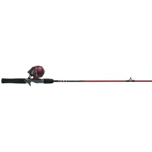 Zebco 202K/562M Sling Shot Spincast Fishing Rod and Reel Combo (Colors May Vary)