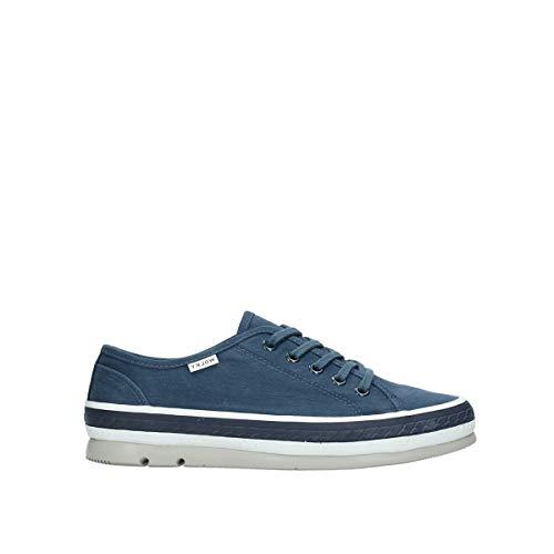Wolky Comfort Sneakers Linda - 96830 blau Canvas - 42