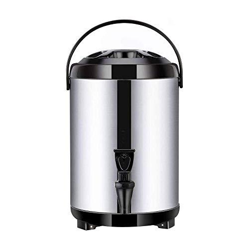 KJRJT Edelstahl Insulated Barrel Doppelschalig 8 Liter-Getränkezufuhr mit Spigot Halten Warmwasser Milch-Tee Kaffee Saft, Zuhause-Party-Nutzung
