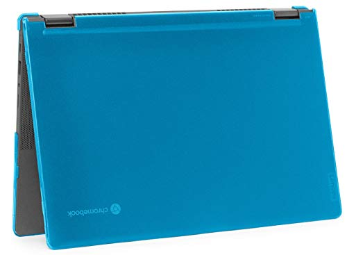 "mCover Hard Shell Case for 2020 Lenovo Chromebook Flex 5 (13"") 2 in 1 Laptop (Not fit Any other laptop) (13 Inch Chromebook Flex 5 2 in 1, Aqua)"