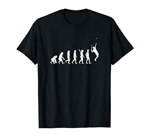 Tennis Spieler Tennisschläger Tennis Evolution T-Shirt