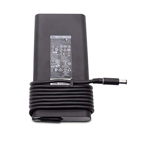 240W AC Adapter for Alienware X51, 15, 17, M17, M17x, 18, M18, M18x R2, Precision 7710 7720 7730 M4700 M4800 M6400 M6500 M6600 M6700 M6800, Thunderbolt TB15 TB16 Power Charger 450-ABIY 450-18655 0MFK9