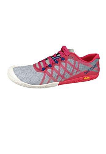 Merrell Women's Vapor Glove 3 Trail Runner, Azalea, 8 M US