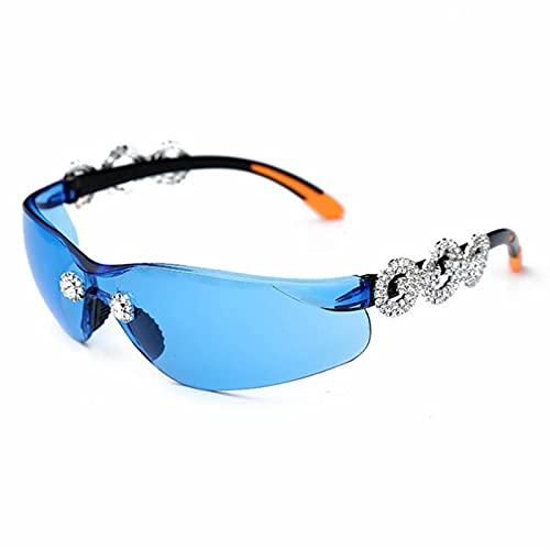XMYNB Gafas de Sol Gafas De Sol Hombres Mujeres Moda Piloto Mujer Gato Ojo Lentes Fresco Lente Transparente Uv400-C,Other