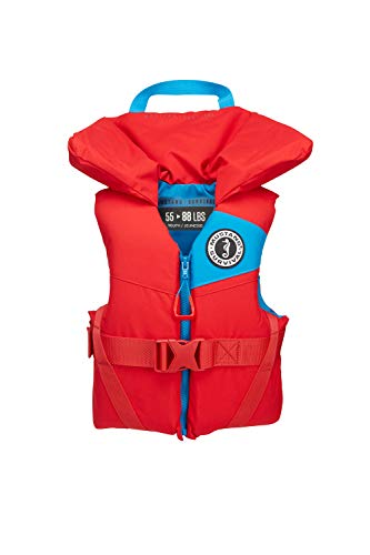 Mustang Survival - Youth Foam PFD - Imperial Red, Youth (55 lbs - 88 lbs)