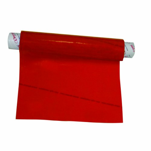"""Dycem - 50-1502R Non-Slip Material Roll, Red, 8"""" X 3.25 ft"""