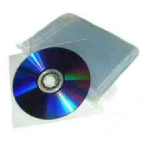 200 80 Micron CD DVD eXpress Net Kunststoff Brieftasche/Hülle