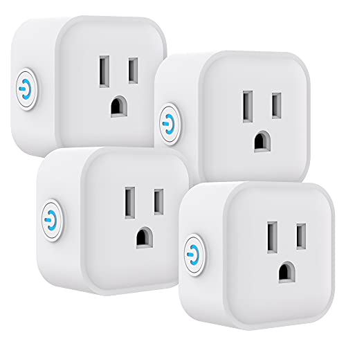UltraPro Smart Plug WiFi Outlet Works With Alexa, Echo & Google Home, No Hub Required, App...