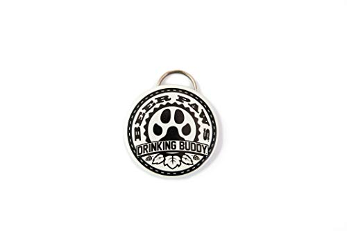 Beer Bottle Opener – 2 Drinking Buddy Bottle Openers for Dog Collar and Dog Leash Attachment- Drink Opener w/Split Ring, Dog Collar Accessories, Dog Party Supplies, Bottle Opener Keychain