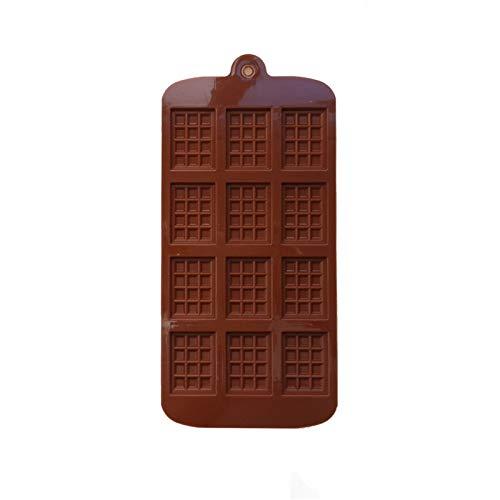 SASCD Silicone Mini Barre de Bloc de Chocolat Moule Moule Moule de Glace Décorations de gâteau de Cuisson de gâteau à gâteaux Jelly Candy Tool DIY Moulds Cuisine Outil (Color : A)