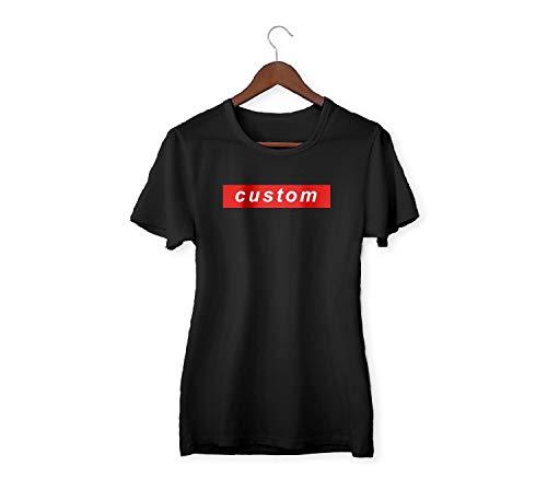 Custom Add Your tekst shirt Suprem Style T-shirt voor vrouwen mannen wit T-shirt gepersonaliseerd geschenk