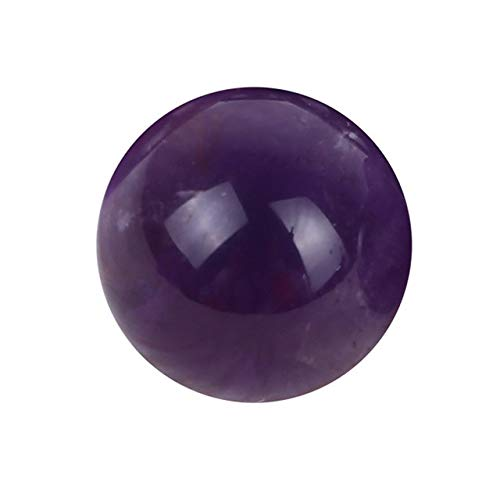 ZHAO Natürliche Amethyst Quarz-Kugel Big Recht Kristallkugel Lila Stein Steine und Kristalle (Color : Purple)