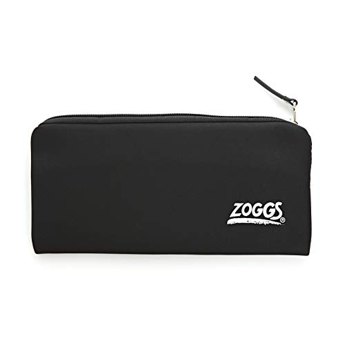 Zoggs Unisex Jugend Goggle Pouch Brillenetui, Black, One Size