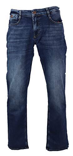 M.O.D Mircale of Denim Herren Jeans Joshua momoto-Blue (36/32)