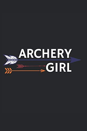 "Archery Girl Cover Black: Archery Score Sheets Log Book for Experts and Beginners – 120 Pages 6""x9"""