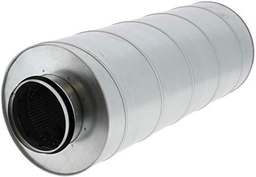 Weedness Vents Schalldämpfer 160 mm / 60 cm - Rohrlüfter Abluftschlauch Isoliert Grow Indoor Anbau Klimagerät Klimaanlage Adapter Rohrventilator Schallgedämmt Lüfter