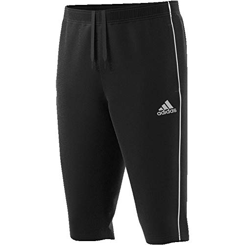 adidas Herren CORE18 3/4 PNT Sport Trousers, Black/White, L