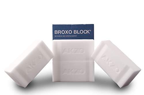 BROXO 4 x 2.5Kg (10Kg) Block Regeneriersalz Siedesalz