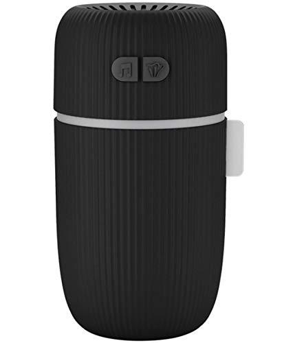 Shenhai Humidificador silencioso Humidificador para automóvil Mini humidificador Humidificador Inteligente Negro batería