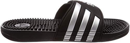 adidas Adissage, Unisex-Erwachsene Dusch- & Badeschuhe, Schwarz (Core Black/Silver Metallic/Core Black 0), 39 EU (6 UK)