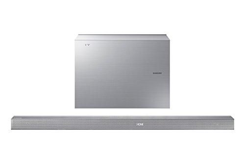 Abbildung Samsung HW-K551/EN 3.1 Soundbar (340 W, kabelloser Subwoofer, Bluetooth, Center Lautsprecher) silber
