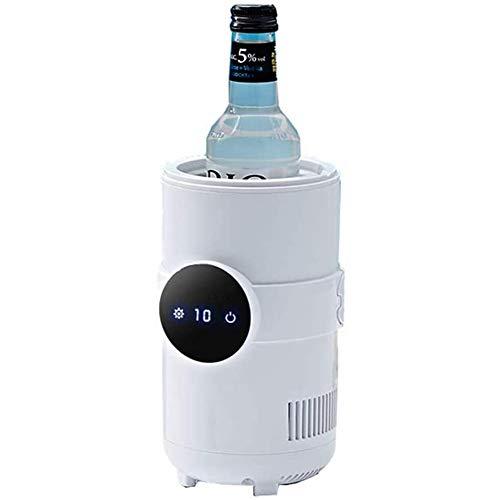 Máquina de vasos de enfriamiento rápido Enfriador portátil para estudiantes Taza de enfriamiento instantáneo Taza de enfriamiento de bebidas Cerveza Taza de agua con hielo rojo brillante Taza calien