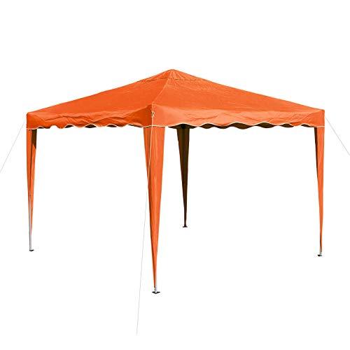 DEMA Alu/Metall Faltpavillon 3x3 Meter Orange