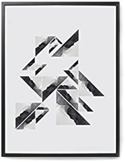 Coco Lapine ポスター/アートプリント 30×40cm Triangular Watercolor