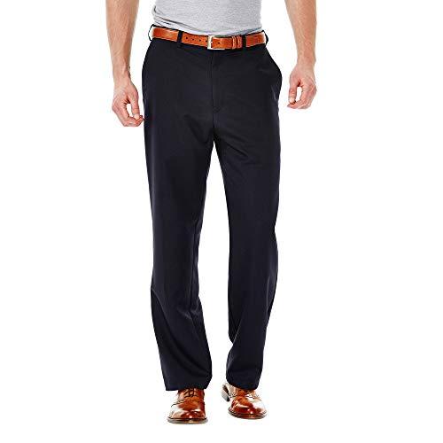 Haggar Cool 18 - Pantalón Corto de Cintura expandible para Hombre, Ajuste clásico