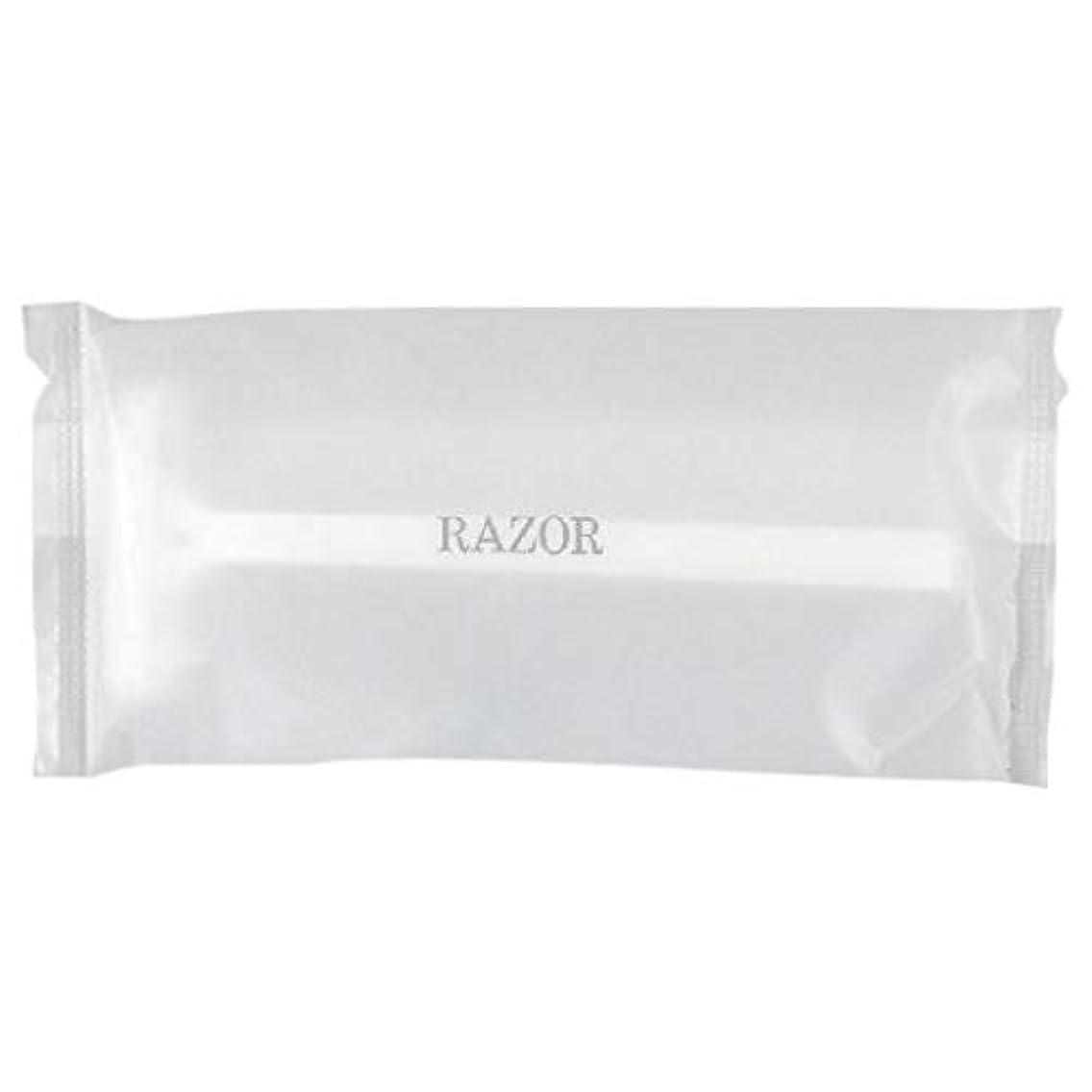 ナプキンオーバーフローささやきカミソリ2枚刃 フェザーシティエース-4 マットOPP袋 50入