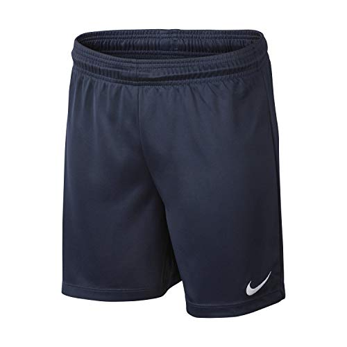 NIKE Kinder Shorts Park II Knit, Midnight Navy/White, M, 725988-410