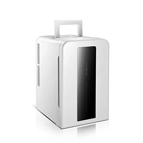 GUOCAO refrigerador del Coche 22L hogar de Doble núcleo de Mini fría y Caliente Sola Puerta de Doble propósito Refrigeradores