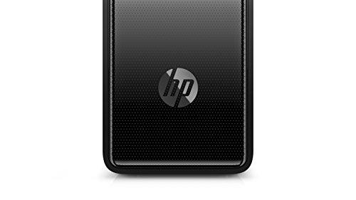 HP Slimline (290-a0005ng) Desktop PC (AMD A9-9425, 8GB DDR4 RAM, 256GB SSD, AMD Radeon R5, Windows 10) schwarz