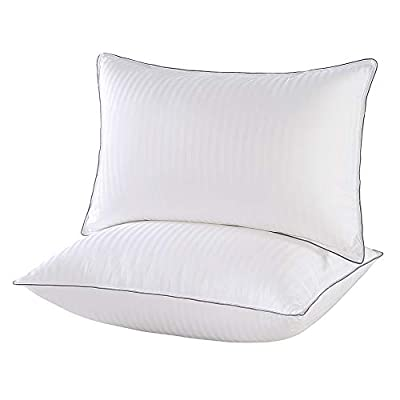 IMISSYOU Sleeping Pillows 2 Pack,Bed Pillows Standard Size, 100% Cotton