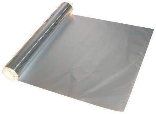 zyh (Packung mit 1 Stück) Aluminiumfolie für die Küchenverpflegung Zinnverdickung 20 Mikron Haushaltsofen Küchengrillgeräte 15m x 30cm