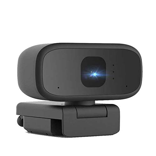 Guangmaoxin Webcam 1080P Full HD con Micrófono,Cámara Web para Ordenador/PC/Portatil,Mini Camara Webcam USB con Enfoque Manual para Videollamadas/Youtube/Skype,Compatible con Windows,Mac,Andro