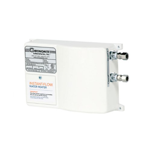 Chronomite SR-20L/120 HTR SR Series Instant Low Flow Tankless Water Heater, small