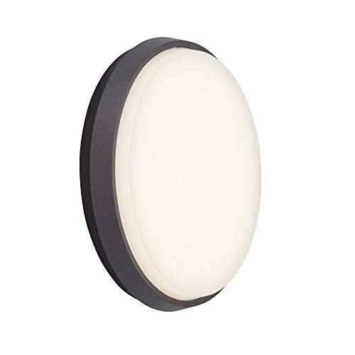 AEG Wandleuchten, Aluminium, 23 W, anthrazit/weiß, AEG280006