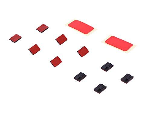 Klebepads mit Kabelclips inkl. Klebeband doppelseitig für Dashcam Autokamera mini0801 BlackVue DR500